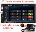 """Универсальный Quad Core 7 """"Двойной 2 Din авторадио Автомобильный DVD Bluetooth Аудио Стерео Радио"""
