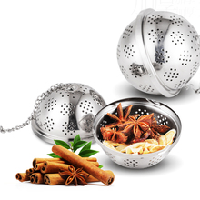 2PCs 304 Stainless Steel Spice Ball Multifunction Tea Soup Brine Filter Stew Storage Box Cooking Tool 1 2l mini portable rice cooker auto multifunction cooking pot heating soup porridge steamer student noodles cooking machine