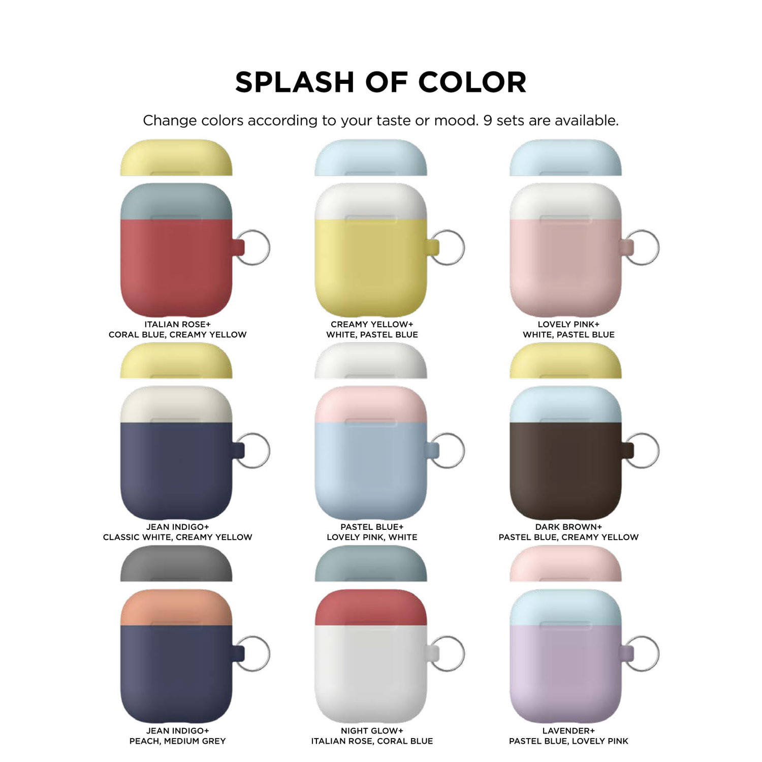For Apple AirPods Case Protect Silicone Box Skin AirPod Earphone Charger Cover #M