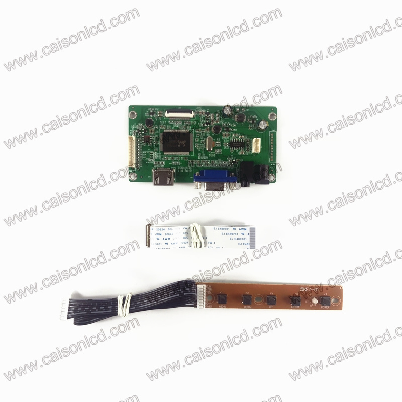 Free shipping RTD2556 HDMI VGA Audio edp Lcd controller board kit for M116NWR4 R1 1366X768 Monitor 1-Lane for EASY DIY repair