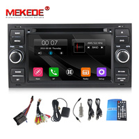 free shipping Car DVD Player For Ford/Mondeo/Focus/Transit/C MAX With Quad Core Wifi GPS Navigation Radio FM+free 8G map