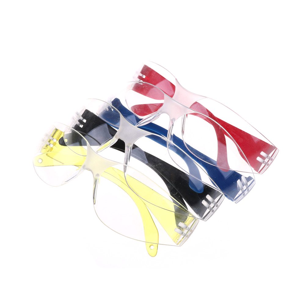 1pcs Children Kids Anti-explosion Dust-proof Protective Glasses Outdoor Activities Safety Goggles - Red