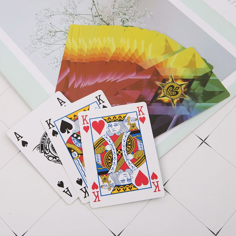 1set Professional Magic Playing Card Magician Props Night Club Bar Party Poker Cards