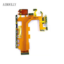 Placa base de repuesto AIBOULLY Z2 Cable flexible botón de encendido y micrófono flexible para Sony Xperia Z2 D6503 D6502 D6543(China)