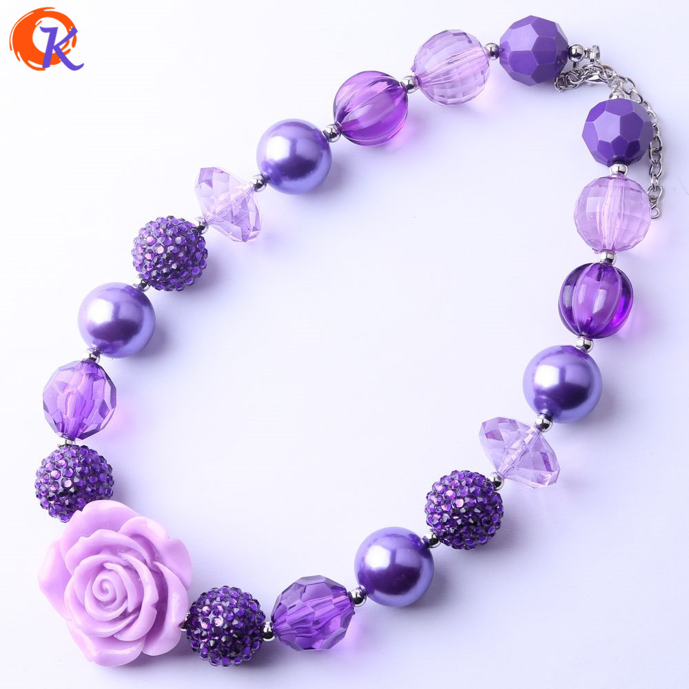 Cordial Design Fashion Jewelry Chunky Beaded Necklace For