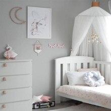 Складная детская кровать навес детская колыбель сетка детское постельное белье купол Корона подвесные занавески палатка принцессы девочки Cribs украшение детской комнаты