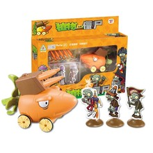 Plants Vs Zombies Garden Maze Struck Game Minecraft Toy Can Launch Bullets Action Toy Figures Toys For Children Gifts недорого