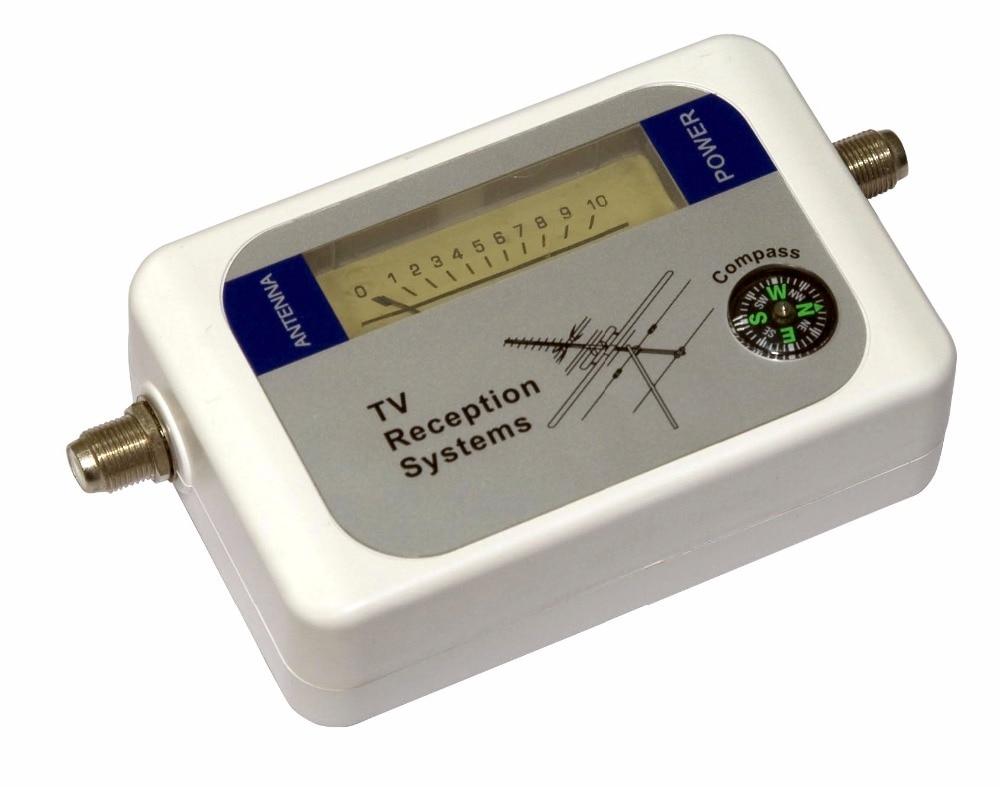 Tv Antenna Signal Strength Meter : Free shipping mini dvb t finder digital aerial terrestrial