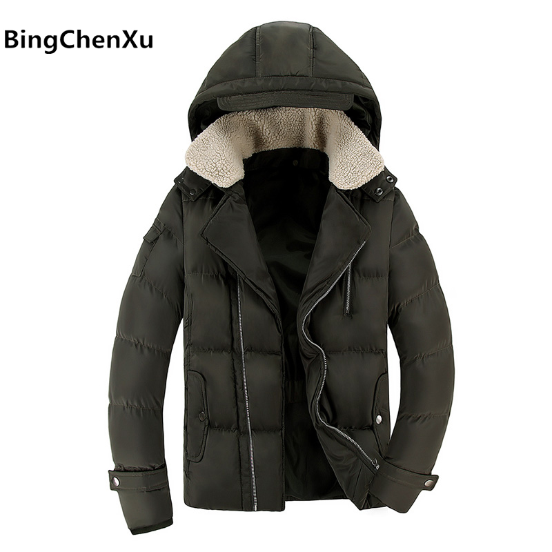 Mens Trench Coat Fashion Men Parka Hooded Design High Quality Men's Slim Jacket Handsome Wadded Coat Down Parkas Outerwear 434 new men s military style casual fashion canvas outdoor camping travel hooded trench coat outerwear mens army parka long jackets