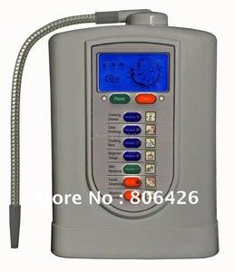 Ionizador alcalino com 5 placas, gerador de água de hidrogênio/água alcalina/kagen ionizador (factura japonesa de tecnologia) filtro de fibra embutido