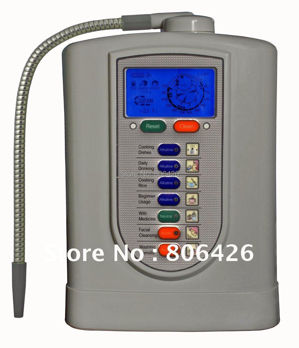 Placa 5 Alcalina ionizador de água/água catódica/hydrogenwate/alcalino água/kangen ionizador (JapanTechTaiwan factry) filtro embutido NSF