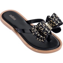 high quality Flip flops for women sandals slippers Flat with bow melissa beach sandals for woman melissa women shoes bow decorated flat sandals with crystal