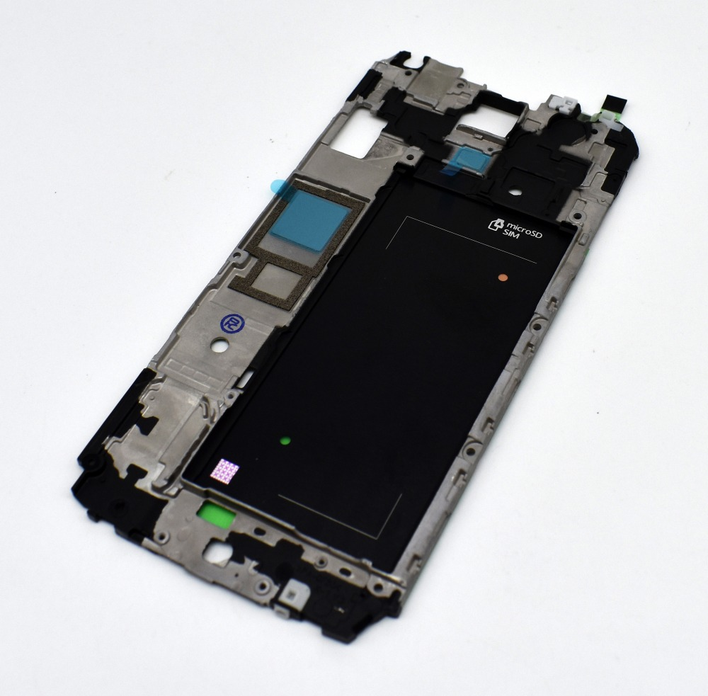 Original New For Samsung Galaxy S5 g900f Faceplate LCD Supporting Front Housing Frame Bezel Replacement Parts