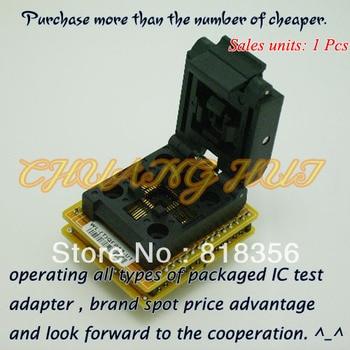 WL-(T)QFP32-U1 Adapter for Wellon Programmer Adapter TQFP32 Adapter IC Test Socket/IC Socket wl pl44 u1 adapter for wellon programmer adapter plcc44 adapter ic test socket ic socket