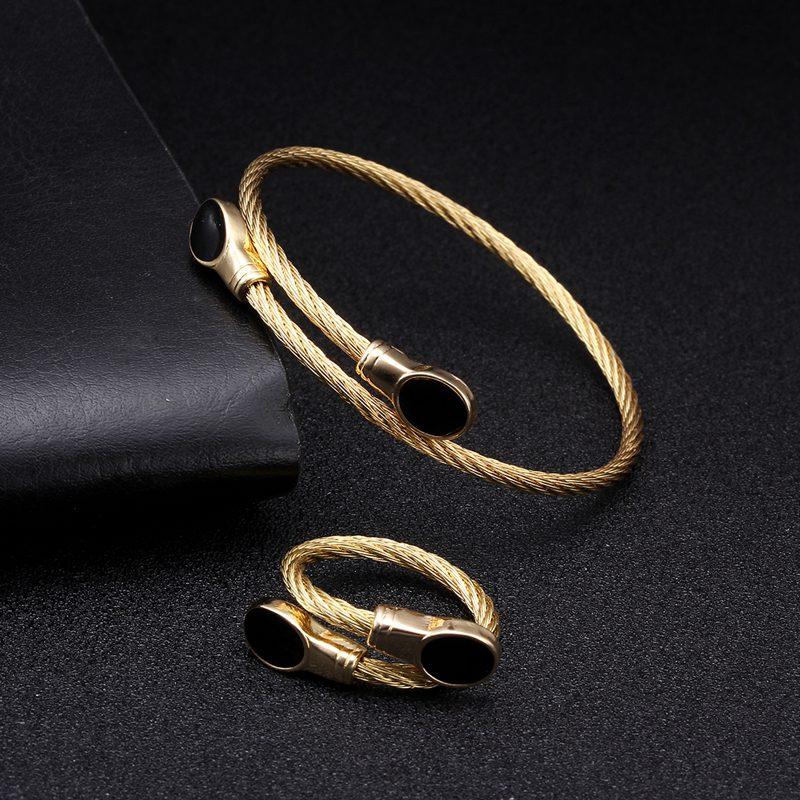 Luxury Open Women Ladies Charm Bracelets Bangles Female Fashion Jewelry Classic Brand braided Cuff Chain Link Sporty Bracelets