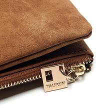 Women's Nubuck PU Leather Wallet