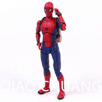 Spider Man Homecoming Spiderman PVC Action Figure Collectible Model Toy With Retail Box Y62