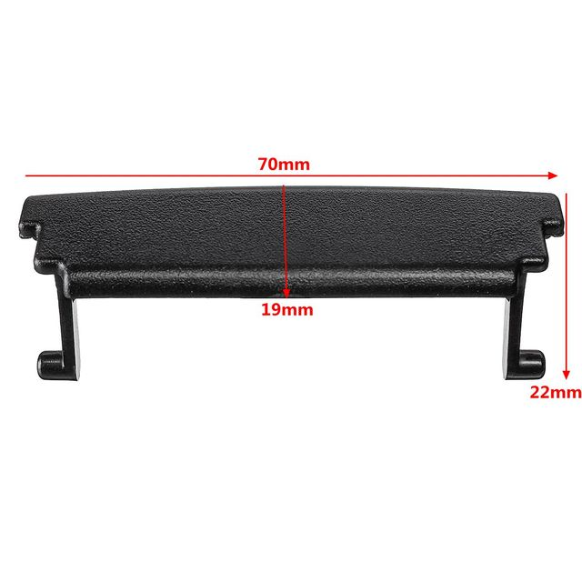 1Pc Plastic Center Console Lid Car Armrest Cover Latch Clip Cover Latch Clip Catch For Audi A3 8P 2003 2004 2005 2006 2007~2012