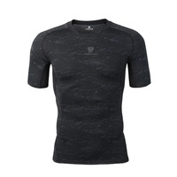 2019 New Quick Dry Compression Men's Short Sleeve T Shirts Running Shirt Fitness Tight Tennis Jersey Gym clothing Sportswear 5xL