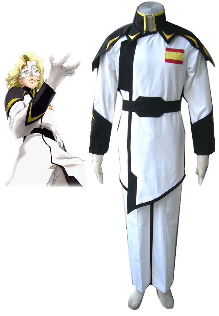 Mobile Suit Gundam Seed Destiny White ZAFT Cosplay Costume Halloween Christmas Party