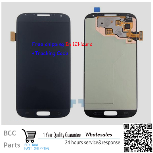 100% guarantee Original New For Samsung Galaxy S4 I9515  Touch screen Panel Digitizer LCD display Best quality In stock!