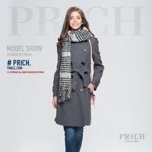 2d9bd9c73d3 Trench pour femmes 2018 offre spéciale à la mode femmes laine mélangée  hiver Noble Long manteau veste