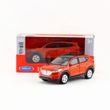 Welly Diecast Model/1:36 Scale/Hyundai Tucson toy/Pull Back Educational Collection/for children's gift