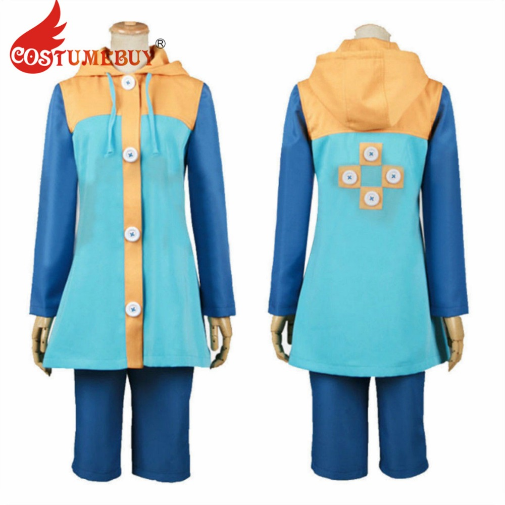 CostumeBuy Anime Sin of Sloth Harlequin king The Seven Deadly Sins Nanatsu No Taizai Cosplay Costume Full Set Custom Made