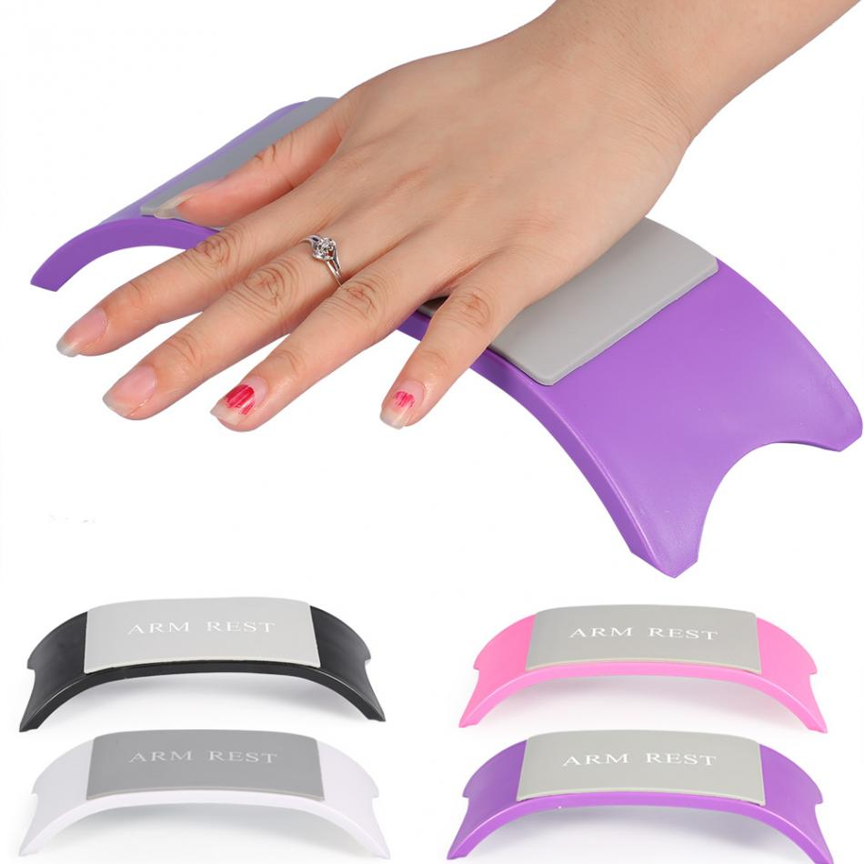 NEW Manicure Hand Rest Pillow Cushion Soft Silicone Pad