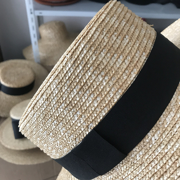 01904 axi Classic pure color handmade straw lady holiday beach fedoras cap men women outdoor panama jazz hat in Men 39 s Sun Hats from Apparel Accessories