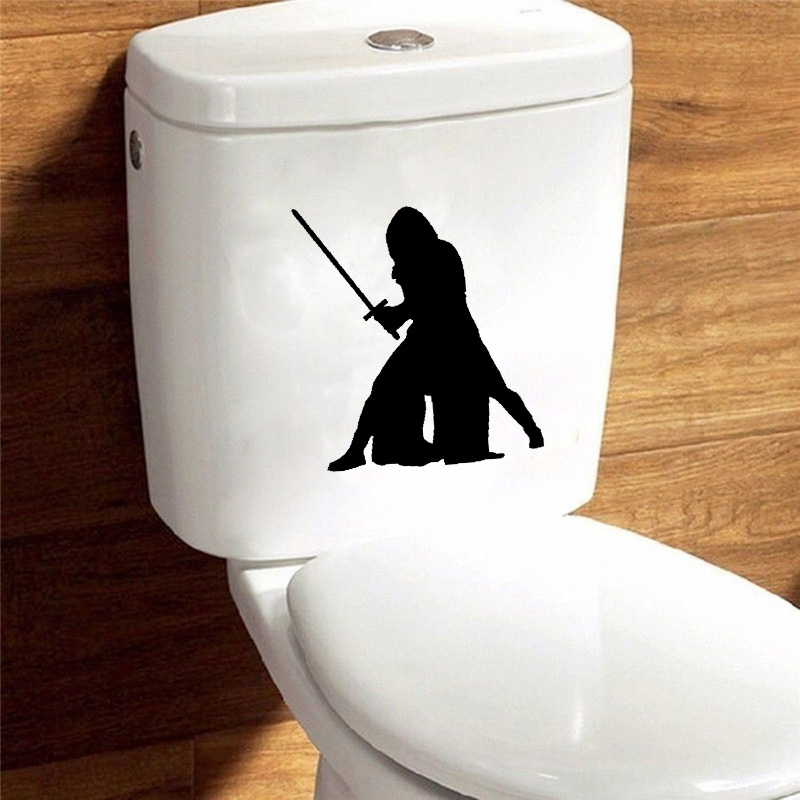 Kylo Star Wars Bathroom Vinyl Home Decor Wall Toilet Stickers Decals 6ws0012 China Mainland