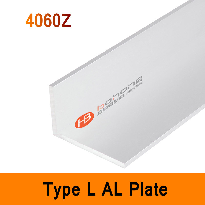 4060Z Type L Aluminium Profile Long Angle Plate EN Standard DIY Brackets AL 3D DIY Printer Frame Metal Connector Sheet Workbench