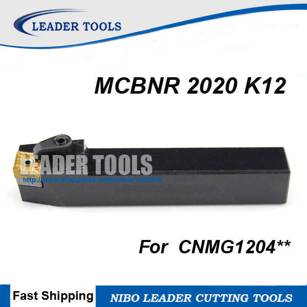 US $6 31 21% OFF|MCBNR2020K12 External M Clamping Locked Turning Tool  Holder,MCBNR/L CNC turning tool holder,Lathe cutting tool For  CNMG120404/08-in
