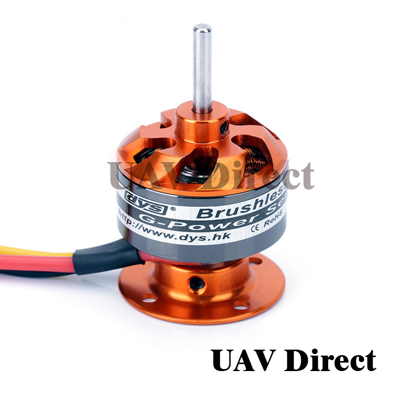 DYS CF2822 <font><b>1200KV</b></font> 1534KV 200W CF2822 brushless motor CF-2822 for KT aircraft fixed-wing aircraft and quadcopter image