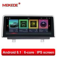 PX6 Android 8,1 Автомобильный dvd плеер для BMW F30/F31/F34/F20/F21/F32/F33/F36 оригинальный НБТ системы Авто gps навигации мультимедиа