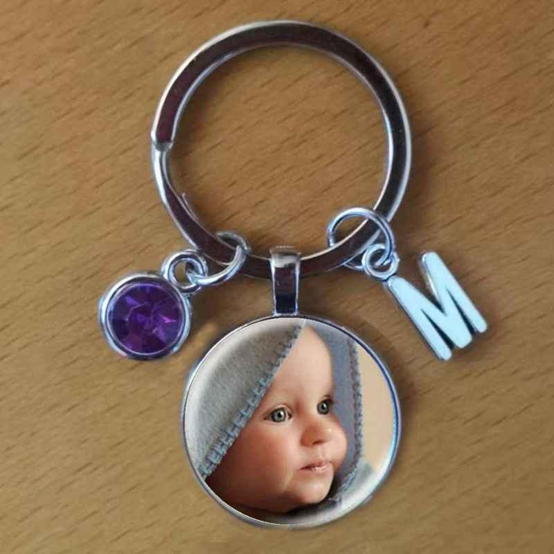 Персонализированные кулон фото индивидуальный брелок фото вашего ребенка мама папа и дедушка любимый один подарок для членов семьи подарок
