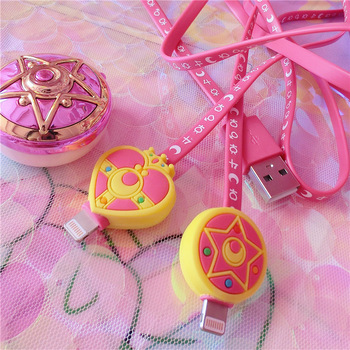 Sailor Moon iPhone USB Charging Cable