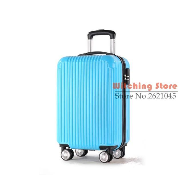 24 INCH  2024# Custom luggage caster Aluminum Alloy suitcase student ABS password box one generation #EC FREE SHIPPING