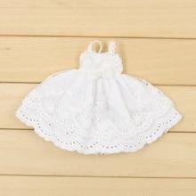 Blyth кукольная одежда ICY Licca 1/6 белое кружевное платье