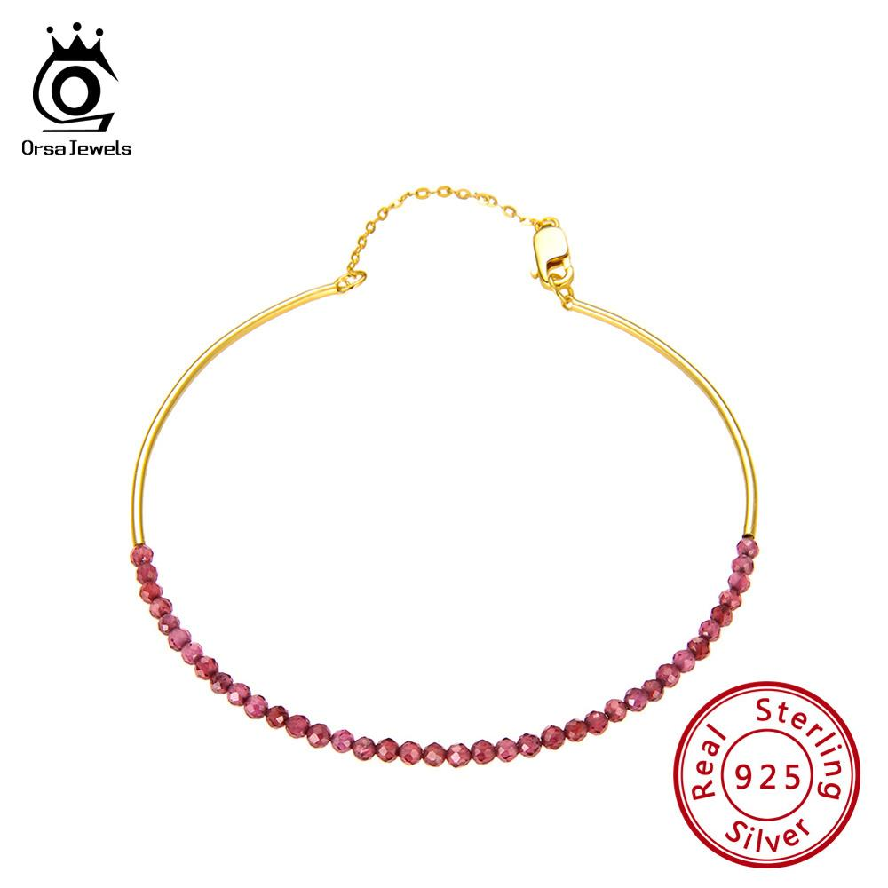 """925 Sterling Silver Red Facetted Garnet Dangle Earrings 1.6/"""" Fashion Jewelry"""