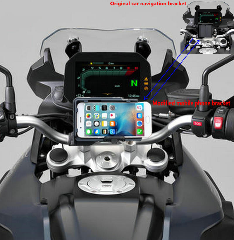 mobile phone Navigation bracket USB phone charging for BMW F750GS F850GS 2018-