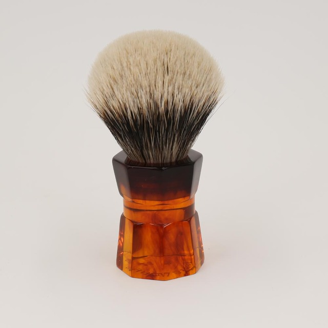 Yaqi 26mm Moka Express Two Band Badger Hair  Men's Beard Shaving Brush