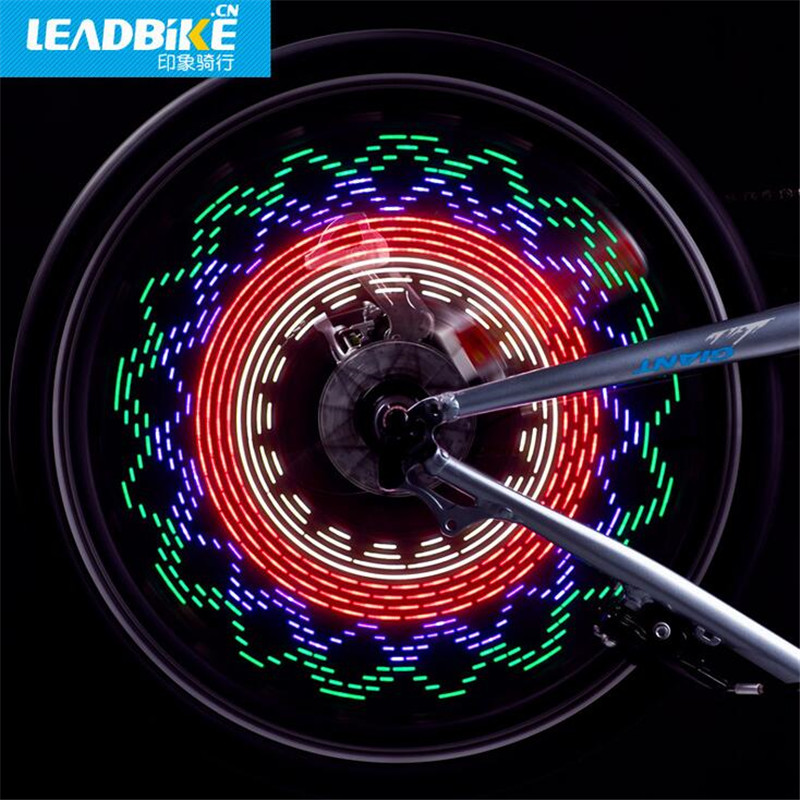 Leadbike Wind Fire Wheel Popular DIY Programmable Waterproof Bike Wheel Light EY Beleuchtung & Reflektoren