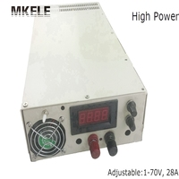 High Power Switching Power Supply SCN 2000 1 70v 0 28A Adjustable Voltage And Digital Monitor