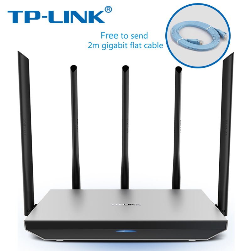TP-Link Wireless Wifi Router AC1300Mbps Dual-Band Wireless Router TL-WDR6800 802.11ac 2.4G 5.0G TP Link APP metal Routers d link dir 605l 802 11b g n 300mbps wifi wireless router black