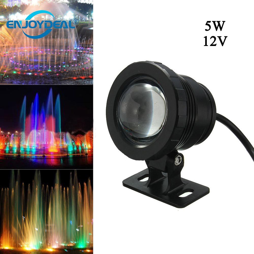 Considerate Waterproof Rgb Led Underwater Light 5w 10w Ac85-265v/dc12v Fountain Swimming Pool Landscape Lamp W/controller Led Underwater Lights Led Lamps