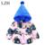 LZH Bonito Impressão Meninas Crianças Outerwear Jaqueta Quente Engrossar Casaco De Algodão Meninos Casaco de Bebê do Inverno Da Menina Jaqueta Com Capuz Crianças Roupas