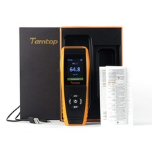 Temtop LKC-1000E Air Quality Detector Professional Monitor with PM2.5/PM10 Accurate Testing