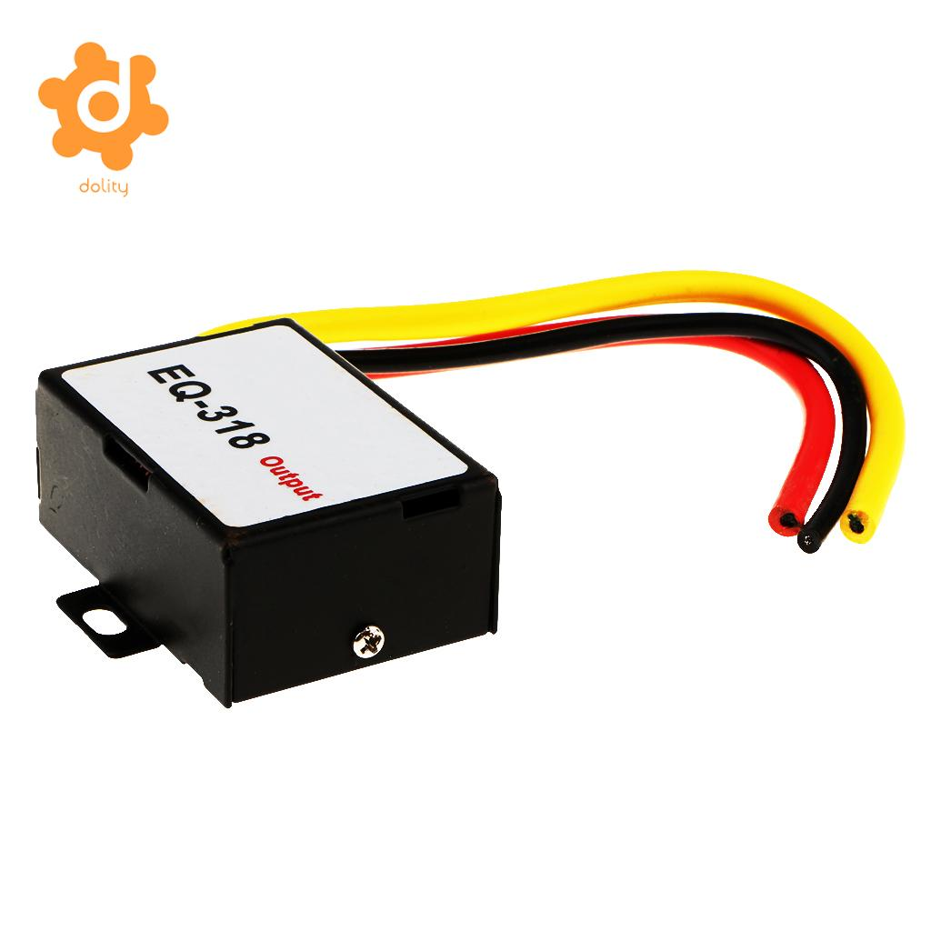 dolity Car Stereo GPS Head Unit Power Cable Amplifier Noise Reducer Audio Filter