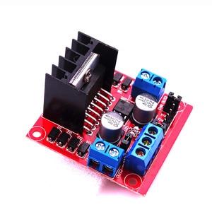 Image 4 - 10pcs L298 Motor Driver Board Module Stepper Motor Robot Car L298N Peltier High Power Breadboard For Arduino Motor Driver